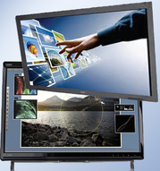 "Broadcast monitoring services, broadcast monitors, computer monitor rentals -Touch screen monitors from 22"" to 80"" Whiteboard LED Displays."